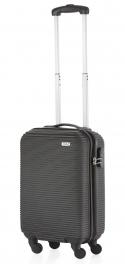 Пластиковый чемодан TravelZ Horizon (S) Black 927752