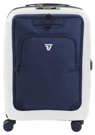 Легкий белый чемодан с рюкзаком Roncato D-BOX 5553;3083