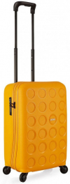 Желтый чемодан из полипропилена Lojel Vita Lj-PP10S_Y