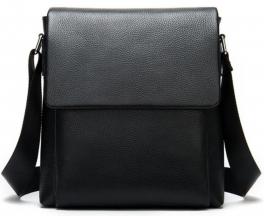 Мужская кожаная сумка через плечо Tiding Bag A25-1278A