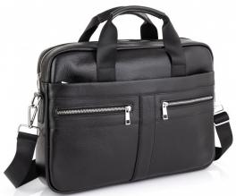 Кожаная мужская сумка для ноутбука Tiding Bag A25-1120A