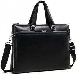 Деловая мужская кожаная сумка для документов Tiding Bag M664-4A