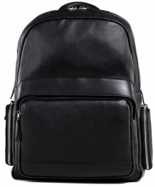 Мужской кожаный рюкзак Tiding Bag B3-047A