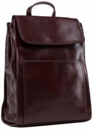 Женский кожаный рюкзак Grays GR3-806BO-BP