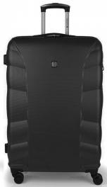 Пластиковый чемодан Gabol London (L) Black 929134