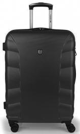 Пластиковый чемодан Gabol London (M) Black 929133