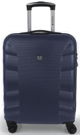 Пластиковый чемодан Gabol London (S) Blue 929136