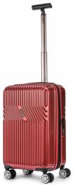 Пластиковый чемодан с расширением Sumdex Line-S SWRH-720 RD