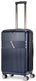 Пластиковый чемодан с расширением Sumdex Line-S SWRH-724 NV